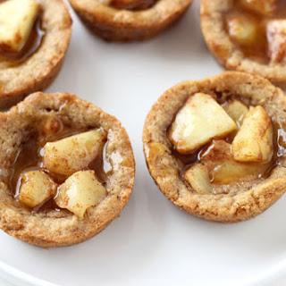 Caramel Apple Pie Cookie Cups