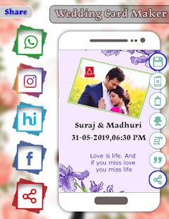 Download Wedding Card Maker : Invitation Card Maker For PC Windows and Mac apk screenshot 6