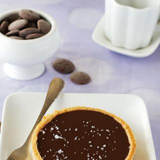 Chocolate Caramel Tart with Sea Salt