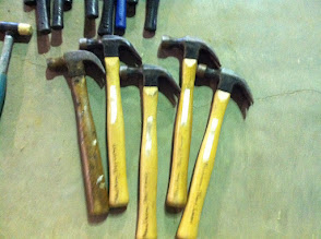 Photo: Wooden hammers