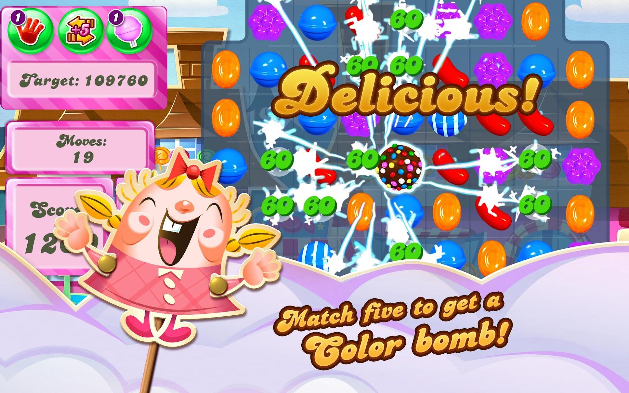 Candy Crush Saga screenshot #7