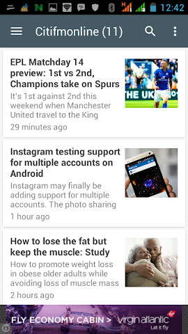 android Ghana News Lite App Screenshot 5