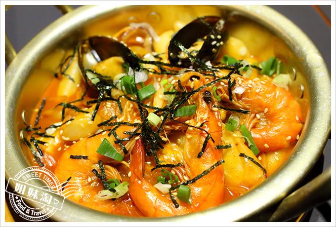 玉豆腐海鮮辣炒年糕2