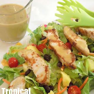 Tropical Grilled Chicken Salad.