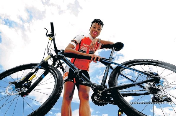 Zanele Mdodana is gearing up to cross the Ironman finish line.