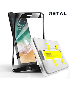 3D Full Cover Screen Protector with Easy Applicator for iPhone 7/8