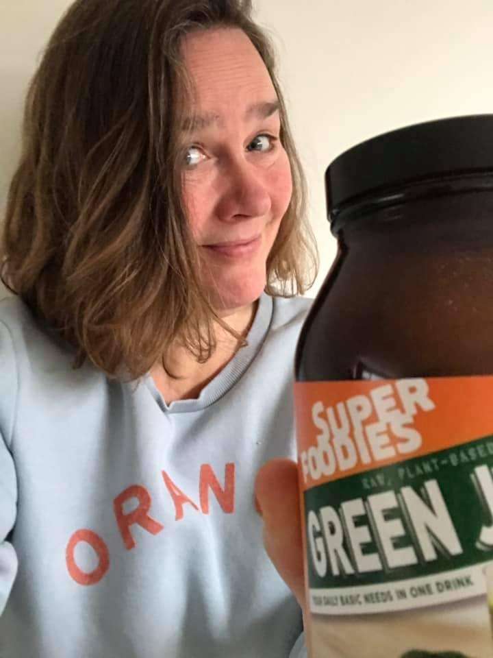 Selfie Green Juice Carla