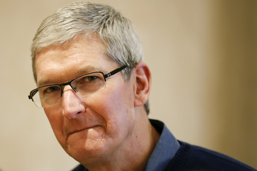 Tim Cook. Picture: REUTERS/CARLO ALLEGRI