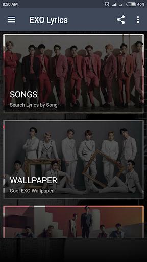 EXO Lyrics (Offline) 4.3 screenshots 2