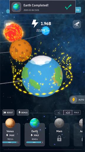 Idle Galaxy Creator apkmr screenshots 1