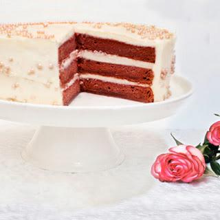 All-Natural Beet Red Velvet Cake.