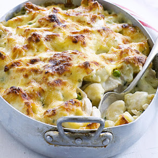 Chicken Macaroni and Cheese.