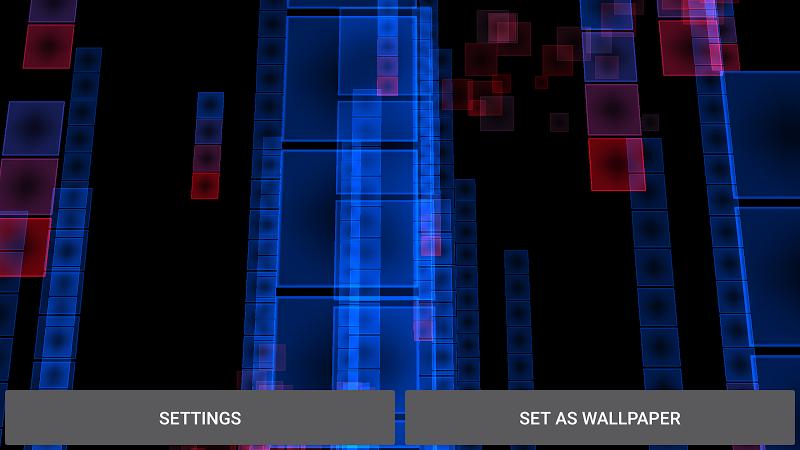 Abstract Particles Wallpaper Screenshot 11