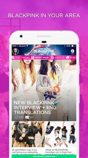 BLINK Amino for BLACKPINK 1.8.15321 screenshots 1