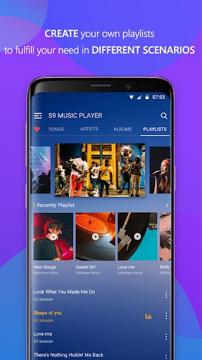 S10 Music Player - Music Player for S10 Galaxy 8.6 screenshots 5