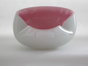Photo: Barbini? Cased bowl with pulegoso.