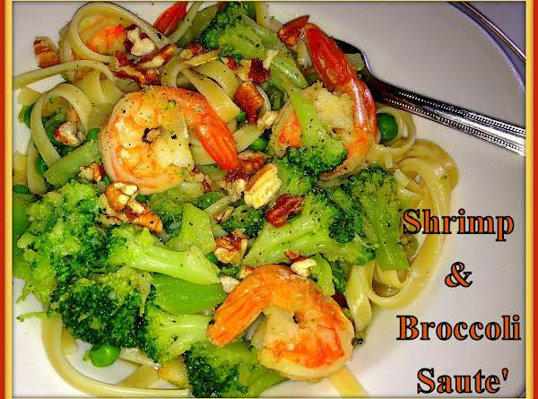 Shrimp & Broccoli Saute'