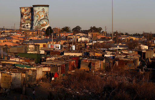 An informal settlement in Soweto. Picture: REUTERS/SIPHIWE SIBEKO