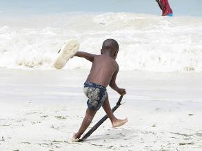 Photo: plaża publiczna w Bamburi