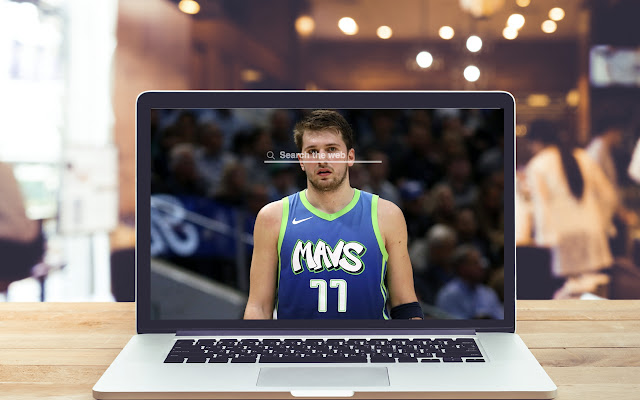 Luka Doncic New Tab NBA Theme