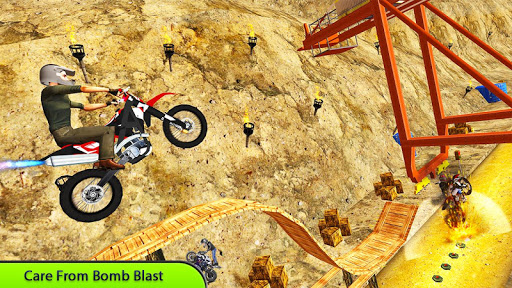 Tricky Bike Stunt Master Crazy Stuntman Bike Rider 1.0 screenshots 10