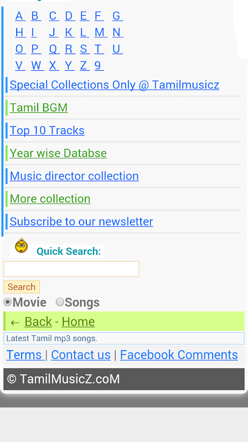Tamil Old Songs- screenshot