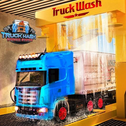 Euro Truck Wash Gas Station Mechanic Games 2019