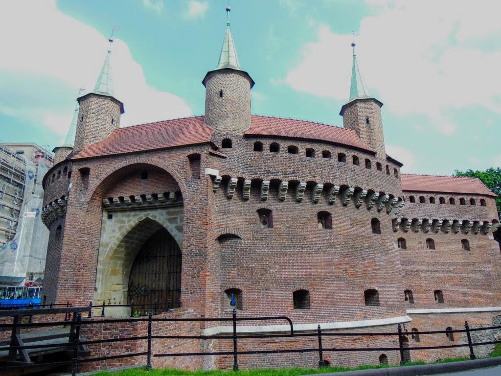 Barbacana de Cracovia.