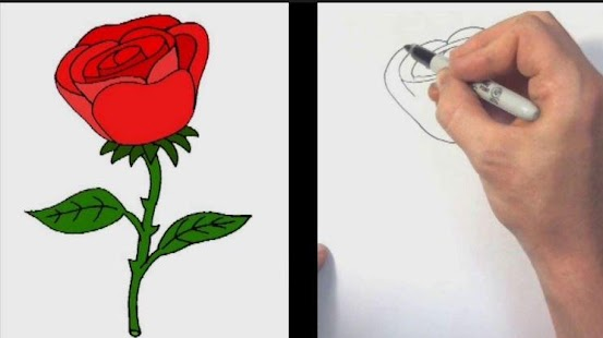 How to draw a rose android apps on google play how to draw a rose screenshot thumbnail ccuart Image collections