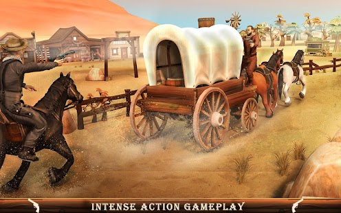Western Cowboy Gang Shooting 3D: Wild West Sheriff- screenshot thumbnail