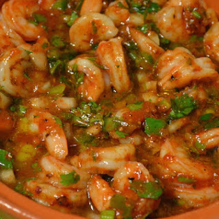 Shrimp Harissa Tagine