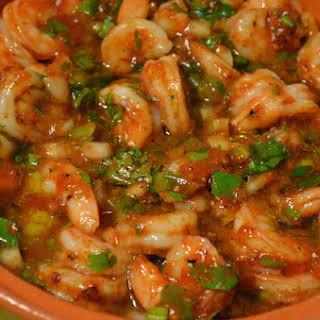 Shrimp Harissa Tagine.