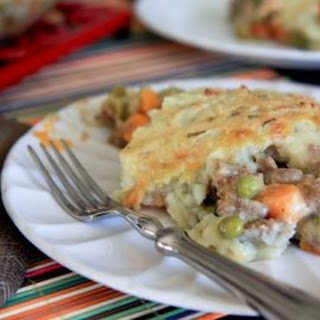 Clean Shepherd's Pie with Garlic-Chive Potatoes.