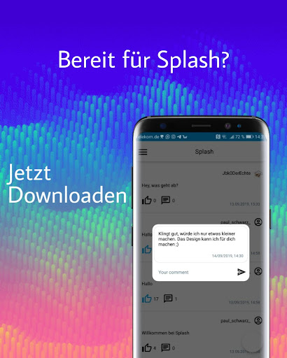 Download Splash - Das soziale Entwicklernetzwerk 1.0 2