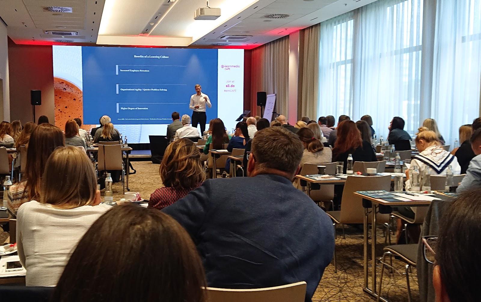 Mathias Dockner hovorí o tom, prečo je dôležité mať v organizácii vzdelávaciu kultúru.