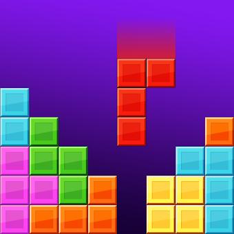テトリスのブロックパズル