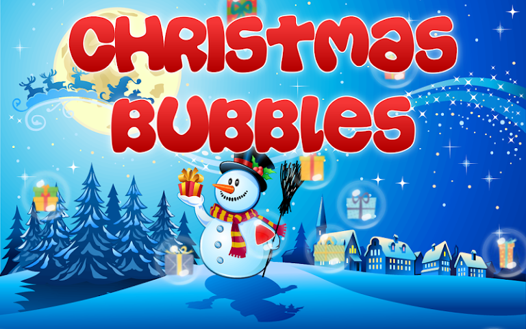 android Christmas Bubbles for Kids Screenshot 0