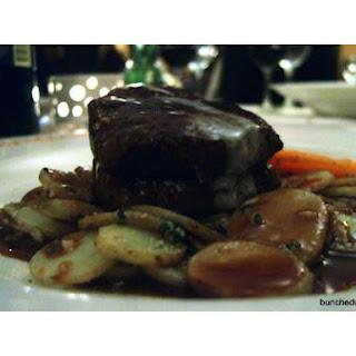 Sauteed Filet Mignon.