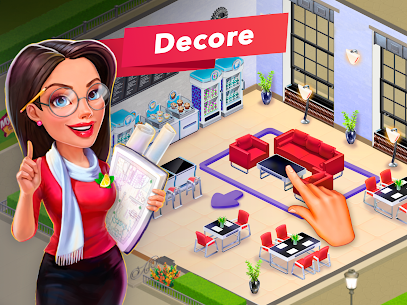 My Cafe Recipes & Stories Apk Mod Dinheiro Infinito 7