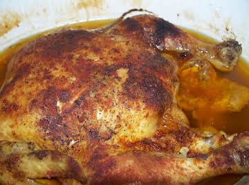 Garlic Roasted Chicken ( in a crock pot )