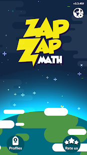Zap Zap Math : K-6 Math Games- screenshot thumbnail