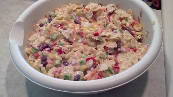 Family Reunion Pasta Salad Recipe