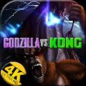 New Godzilla Monster Kong Wallpaper 4K-HD icon