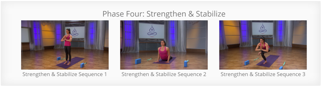 Yoga for Pain - Strengthen and Stabilize for Back Pain
