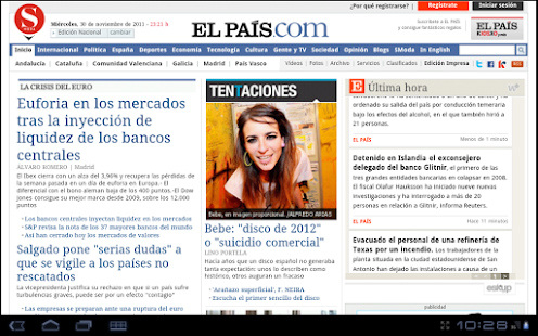 La Prensa (España)- screenshot thumbnail