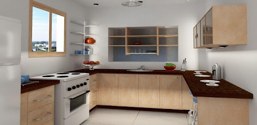 Kitchen Set Design for PC