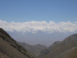 Photo: Lenin Peak, Chon-Alay range & Alay Valley, view from Djiptyk pass (S)