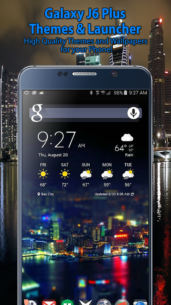 Themes For Samsung J6 Plus J6 Launcher Wallpaper 1 0 9 Apk Download Theappshub Samasung Galaxy Themes Wallpaper Samsung Launcher Apk Free