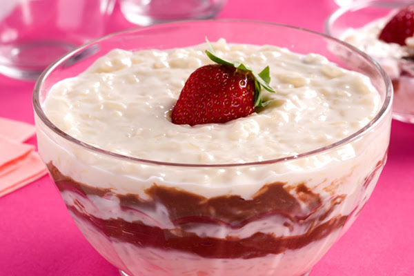 Creme de Arroz com Cream Cheese