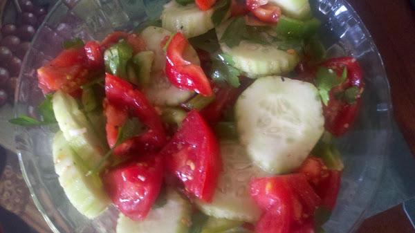 Tomato Salad, Hungarian Style Recipe